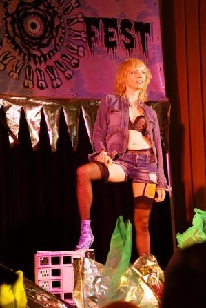 Grrl Fest 2015 - Northcote Town Hall (Dinda Advena) 1