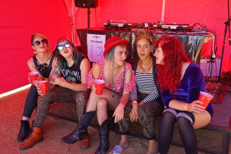 Grrl Fest 2015 - Northcote Town Hall (Dinda Advena) 32
