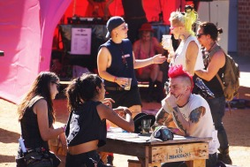 Grrl Fest 2015 - Northcote Town Hall (Dinda Advena) 39