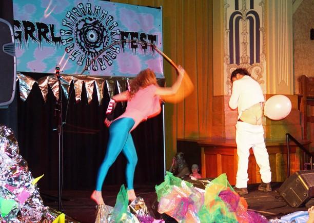 Grrl Fest 2015 - Northcote Town Hall (Dinda Advena) 7