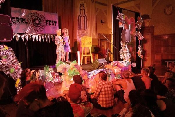 Grrl Fest 2015 - Northcote Town Hall (Dinda Advena) 8